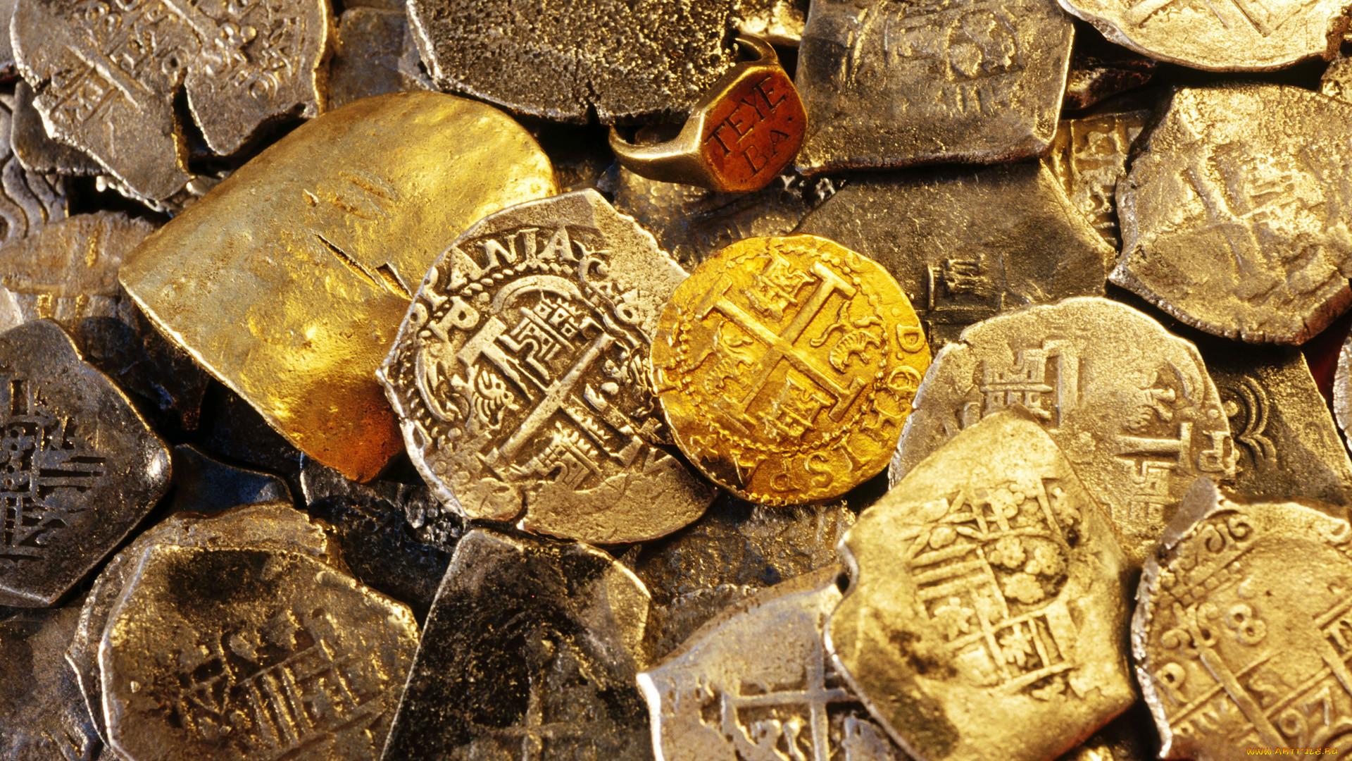"""Oldtimewallpapers.com """" антиквариат """" монеты."""